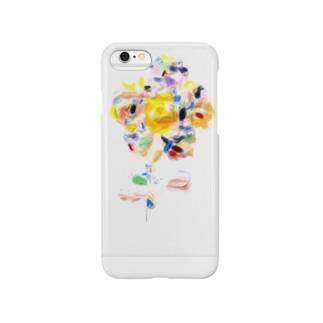 虹色の花 Smartphone cases