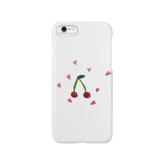 ちぇりー Smartphone cases