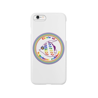 NK♥LOVEのCircle of happiness rainbow<tropical fish> Smartphone cases