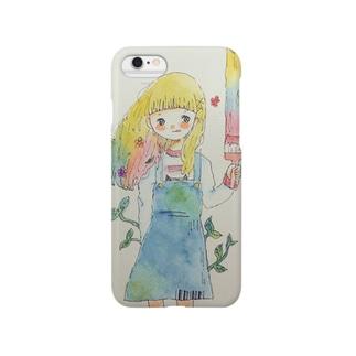 はるこちゃん Smartphone cases