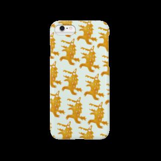 ponieのオオカミミント スマートフォンケース