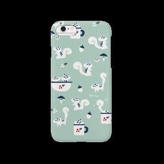 ponieのクラシカルりす Smartphone cases