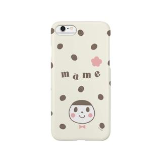 豆大福ちゃん Smartphone cases