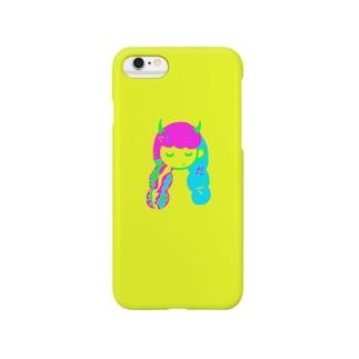 いいわけ娘 Smartphone cases