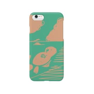 『sea otter』 スマートフォンケース