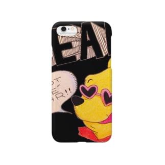 あやしいクマの妖精 Smartphone cases