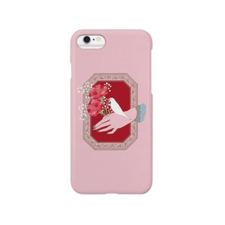 Carnation 白文鳥 Smartphone cases