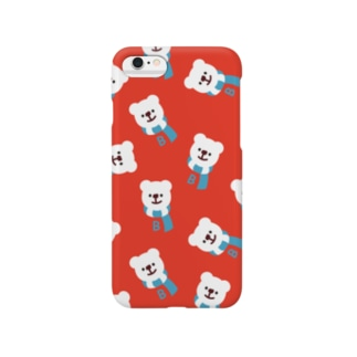BINGOYAくん(winter ver) iPhone6plus用 Smartphone cases