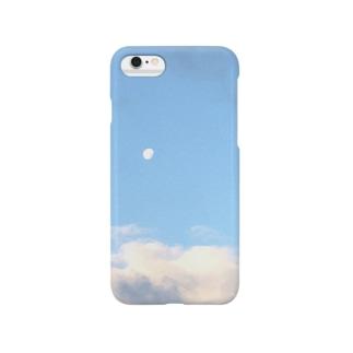 昼浮かぶ月 Smartphone cases