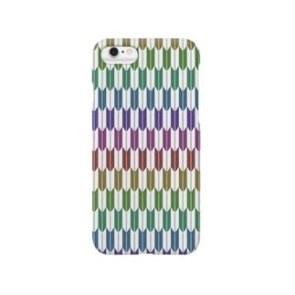 Yagasuri(Vintage Rainbow) Smartphone cases