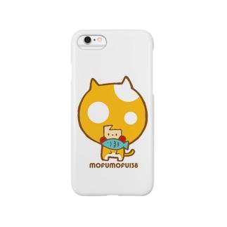 お魚くわえたハリーネコ Smartphone cases