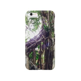 Yakushima tree Smartphone cases