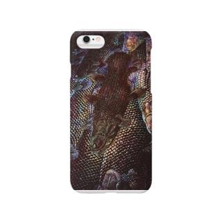 生きる化石 泳ぐ化石 群れる化石 Smartphone cases