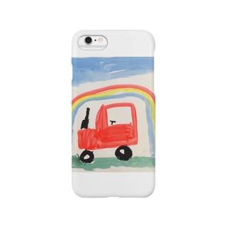 虹とくるま Smartphone cases