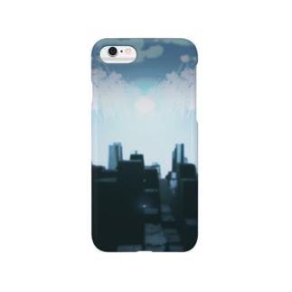 街 粒子なしver Smartphone cases