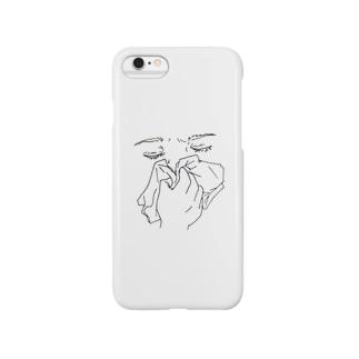 鼻かむ Smartphone cases
