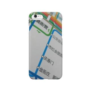 杭州路線図 Smartphone cases