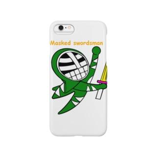 マスクド・グリーン Smartphone cases