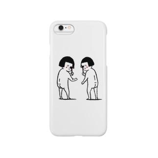 おかっぱ女子に気付かれた! Smartphone cases