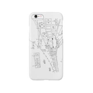 田町くわ(ヨコ) Smartphone cases