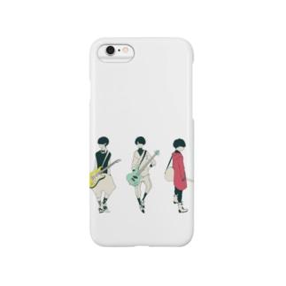 ギター&ベース男子 Smartphone cases