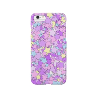 レオナのStars(Pop & YumeKawaii color) Smartphone cases