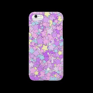 レオナのStars(Pop & YumeKawaii color) Smartphone cases