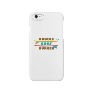 DOUBLE SURF BURGER Smartphone cases