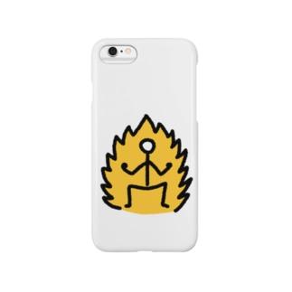 【棒人間スタンプ】サイ◯人 Smartphone cases