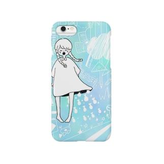 女の子と空想世界 Smartphone cases