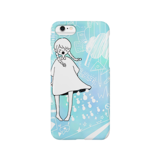 中山の女の子と空想世界 Smartphone cases