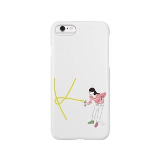 モモノフスプレー女子 Smartphone cases