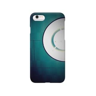 天井にぶら下がる月 Smartphone cases