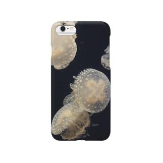 くらげカバー Smartphone cases