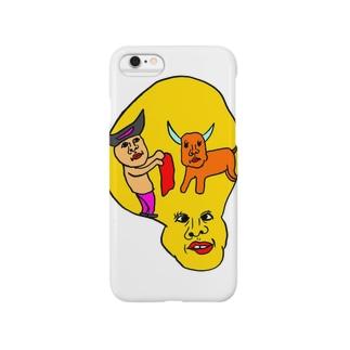 ナプキンマタドール Smartphone cases