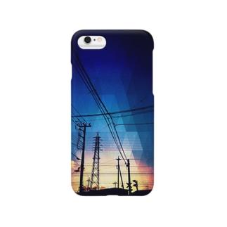 夕方の空 Smartphone cases