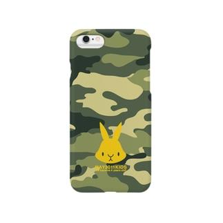 【2011.5】うさぎ カモフラ Smartphone cases