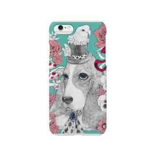 犬とオウム Smartphone cases
