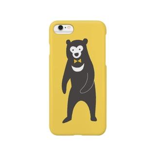 おめかしマレーイエロー Smartphone cases