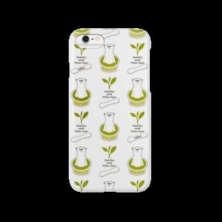 nachiccoのしろくまバニラ:抹茶味 Smartphone cases