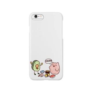 野生のOSUSHI Smartphone cases