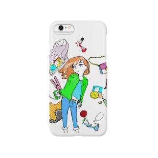 GRICOの流行りは憂鬱(カラー) Smartphone cases