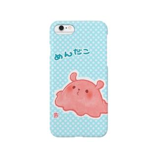 めんだこ Smartphone cases