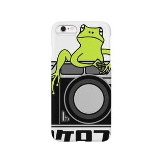 ケロケロフォト Smartphone cases
