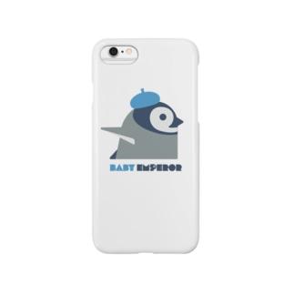 エンペラーペンギン(ヒナ) Smartphone cases