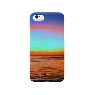 グアムの夕焼け Smartphone cases