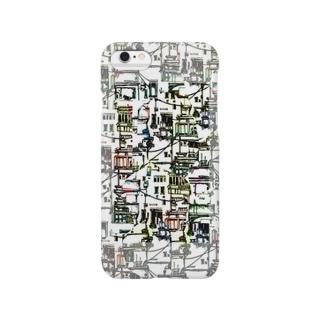 配線ごちゃごちゃ Smartphone cases