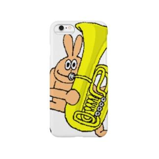 チューバうさぎさん Smartphone cases