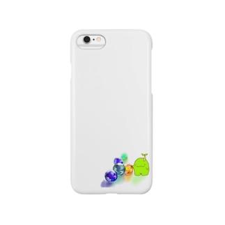 まめもとビー玉 Smartphone cases
