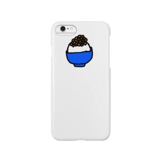 僕のごはんシリーズ(なっとう) Smartphone cases